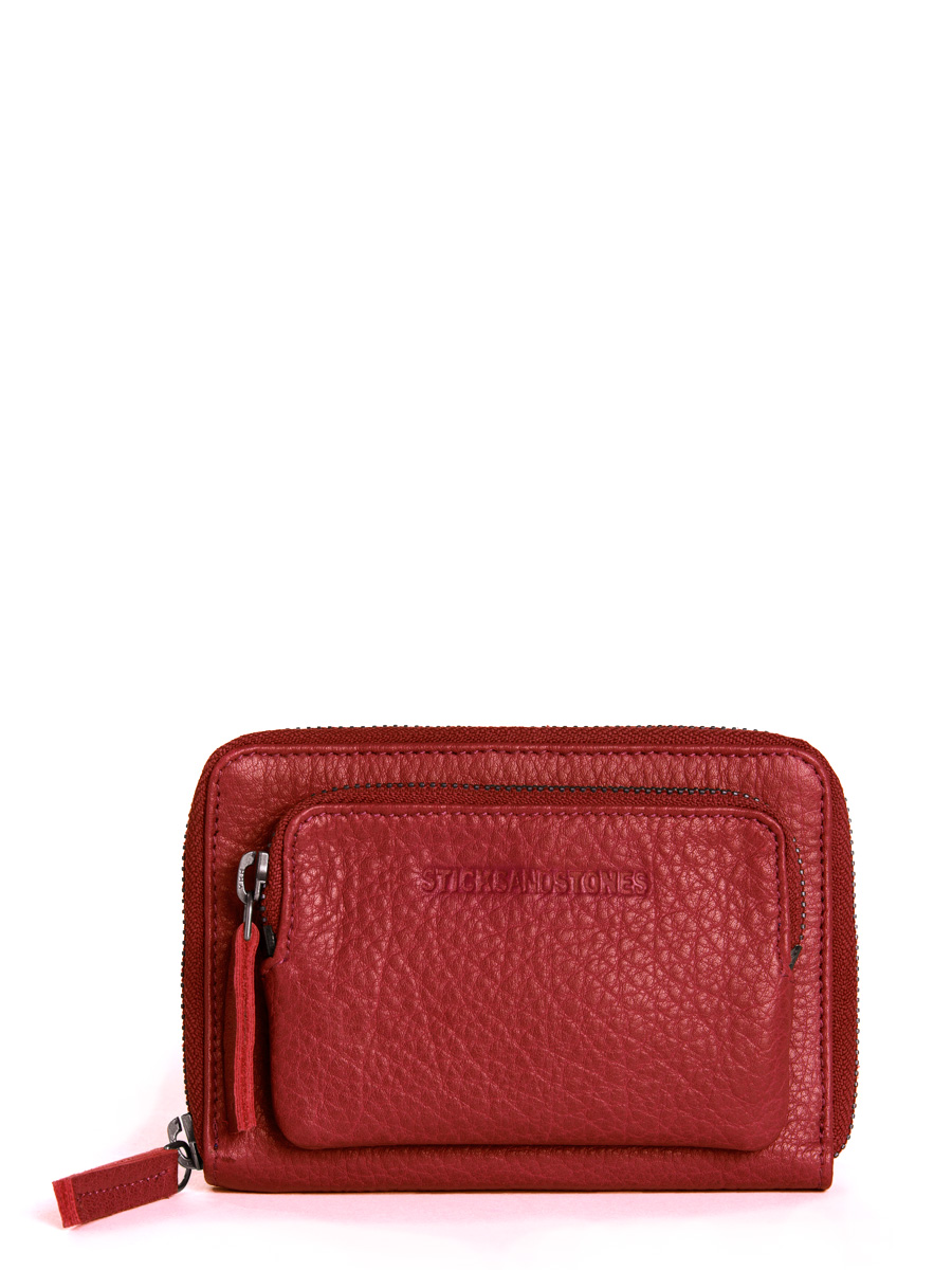 Montana Wallet - Cherry Red