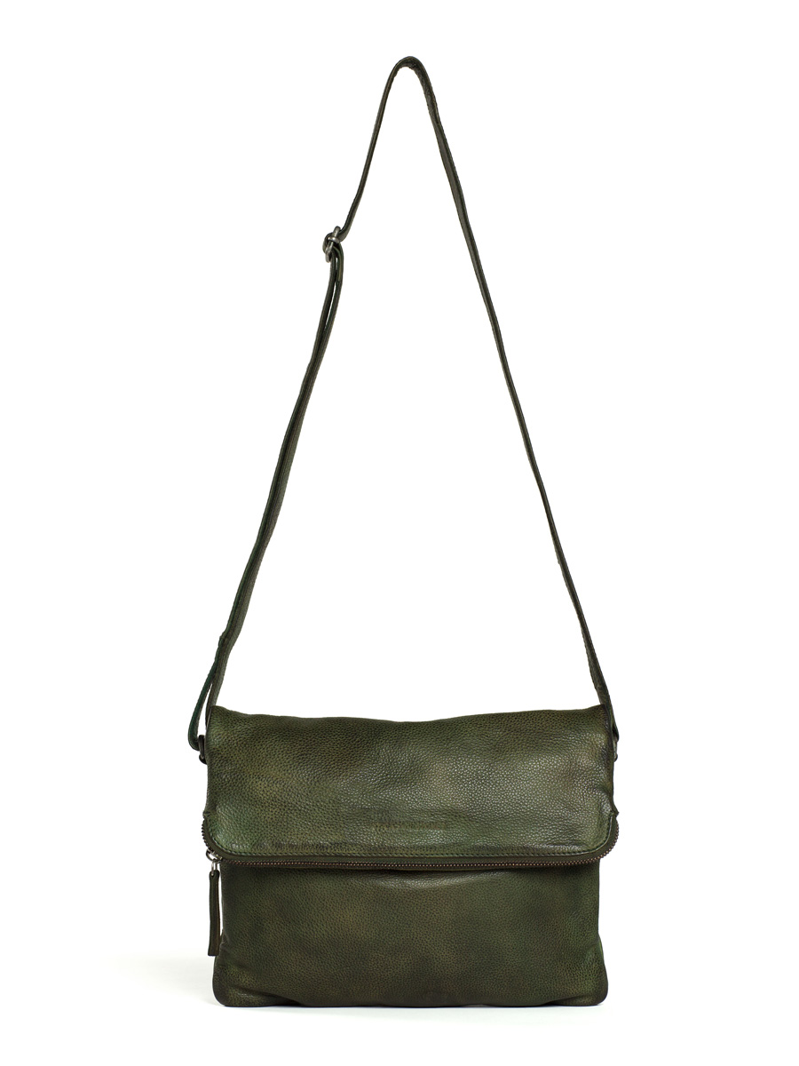 Rosebery Bag - Vegetable Tanned - Dark Olive