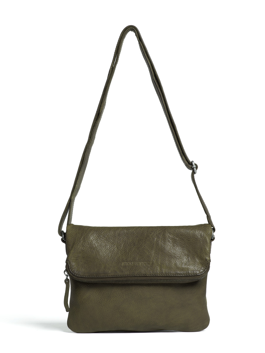 Bondi Bag - Vegetable Tanned - Dark Olive