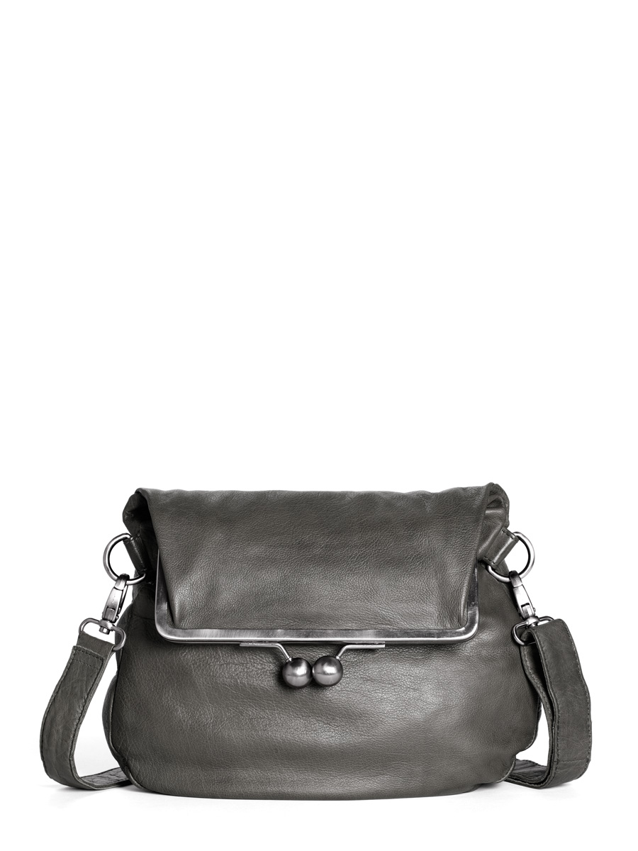 Cannes Bag - Buff Washed - Light Grey