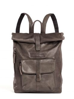 Messenger Backpack - Vegetable Tanned - Taupe