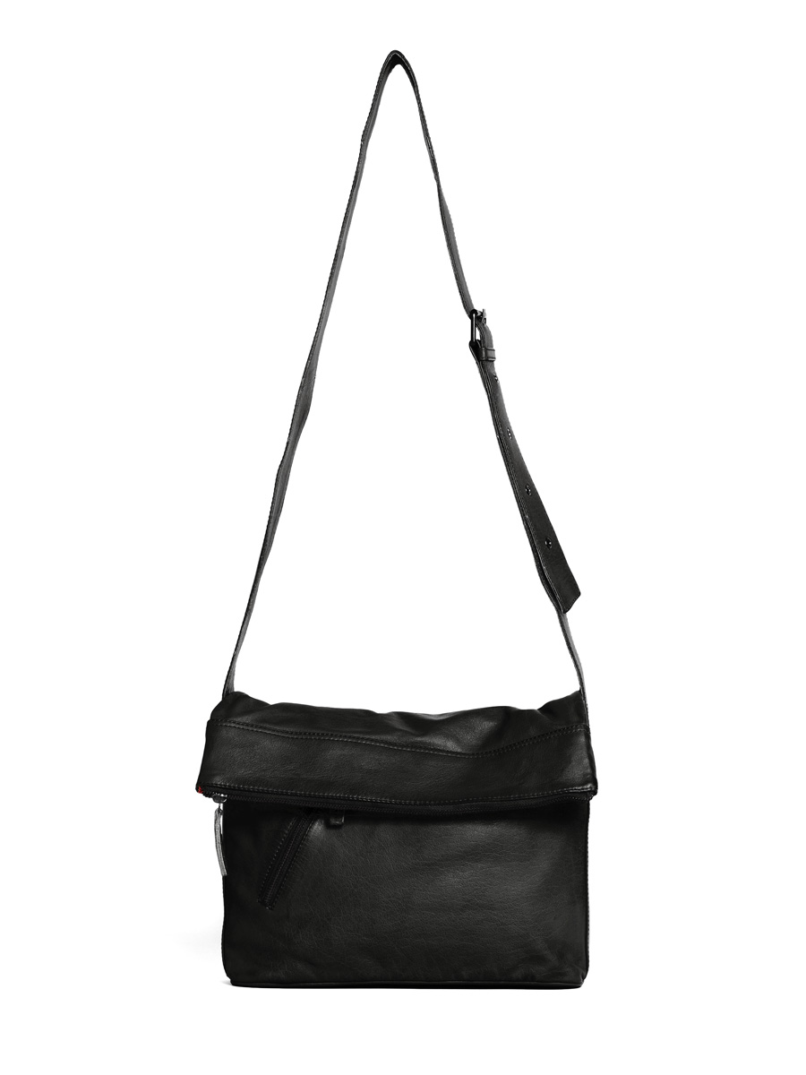 City Bag - Buff Washed - Black