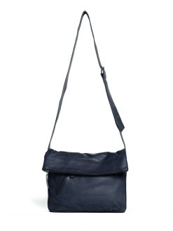 City Bag - Buff Washed - Dark Blue