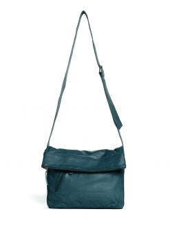 City Bag - Buff Washed - Deep Teal