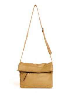 City Bag - Buff Washed - Honey Yellow