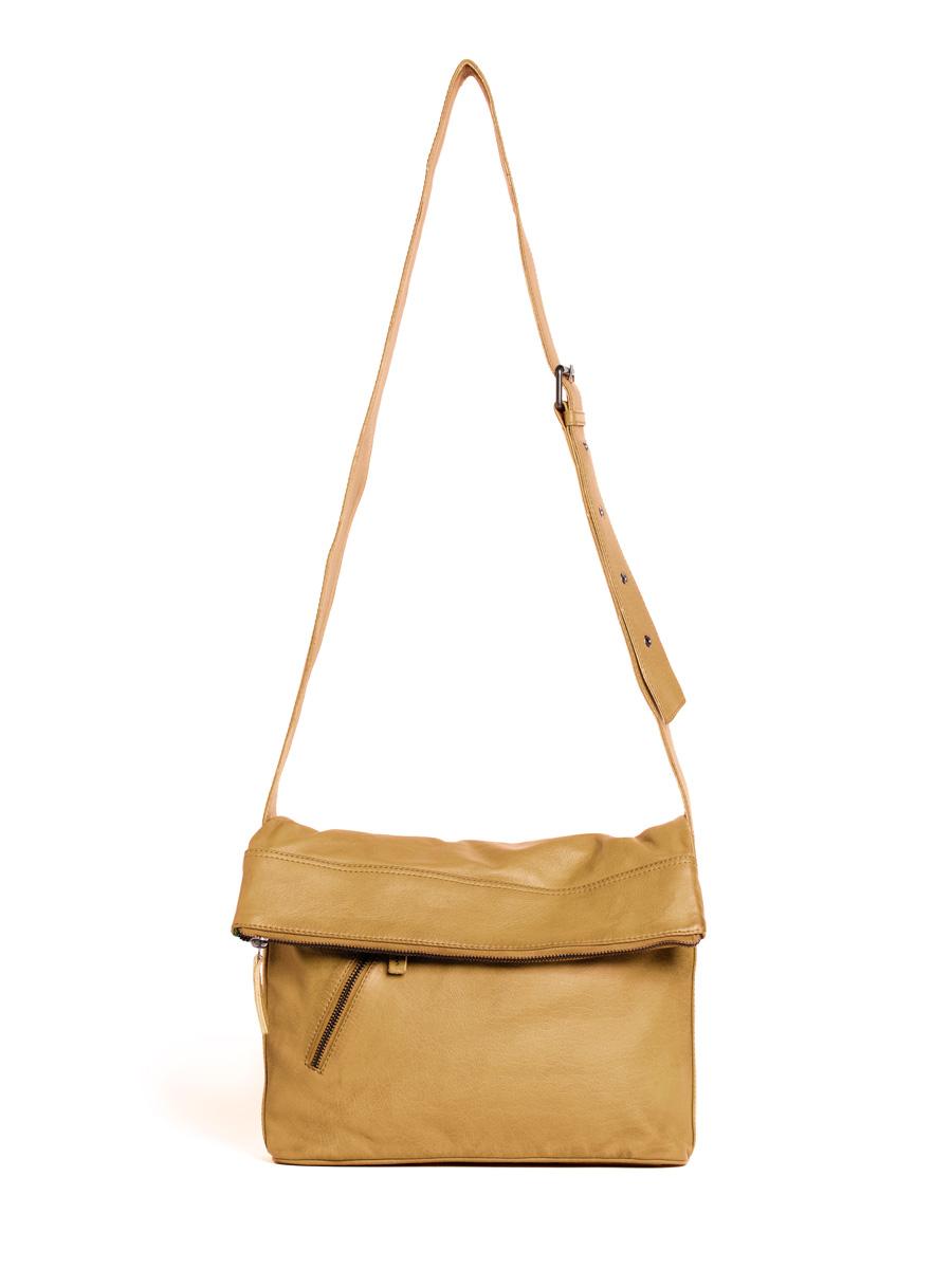 City Bag - Buff Washed - Honey Yellow