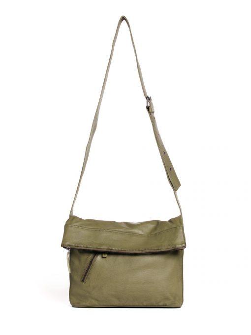 City Bag - Buff Washed - Ivy Green
