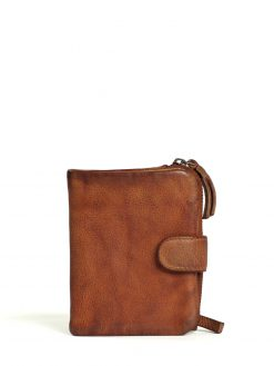 Corsica Wallet - Vegetable Tanned - Cognac