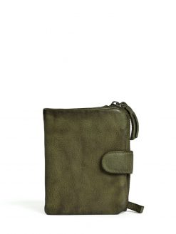 Corsica Wallet - Vegetable Tanned - Dark Olive