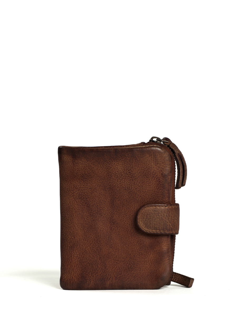 Corsica Wallet - Vegetable Tanned - Mustang Brown