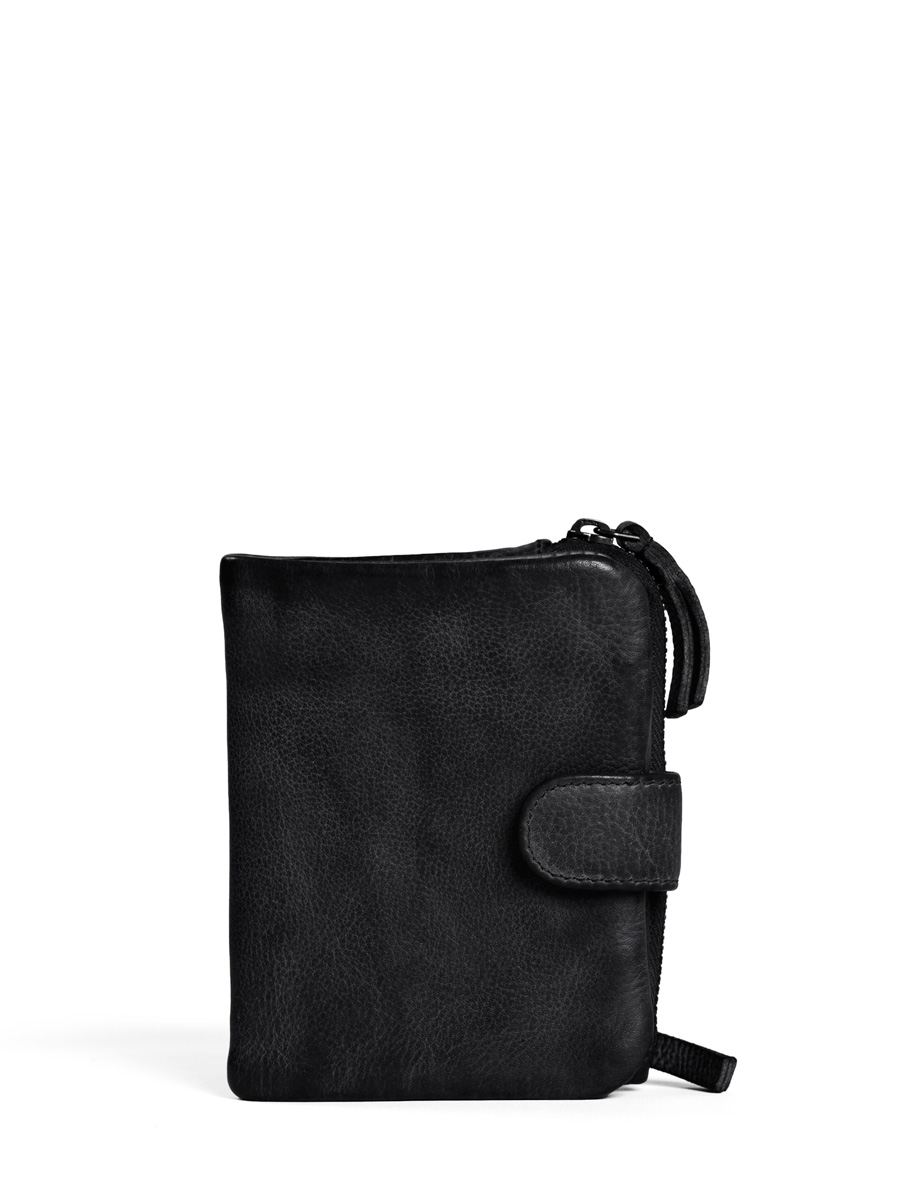 Corsica Wallet - Vegetable Tanned - Black
