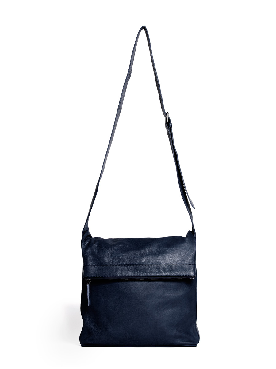 Flap Bag - Dark Blue