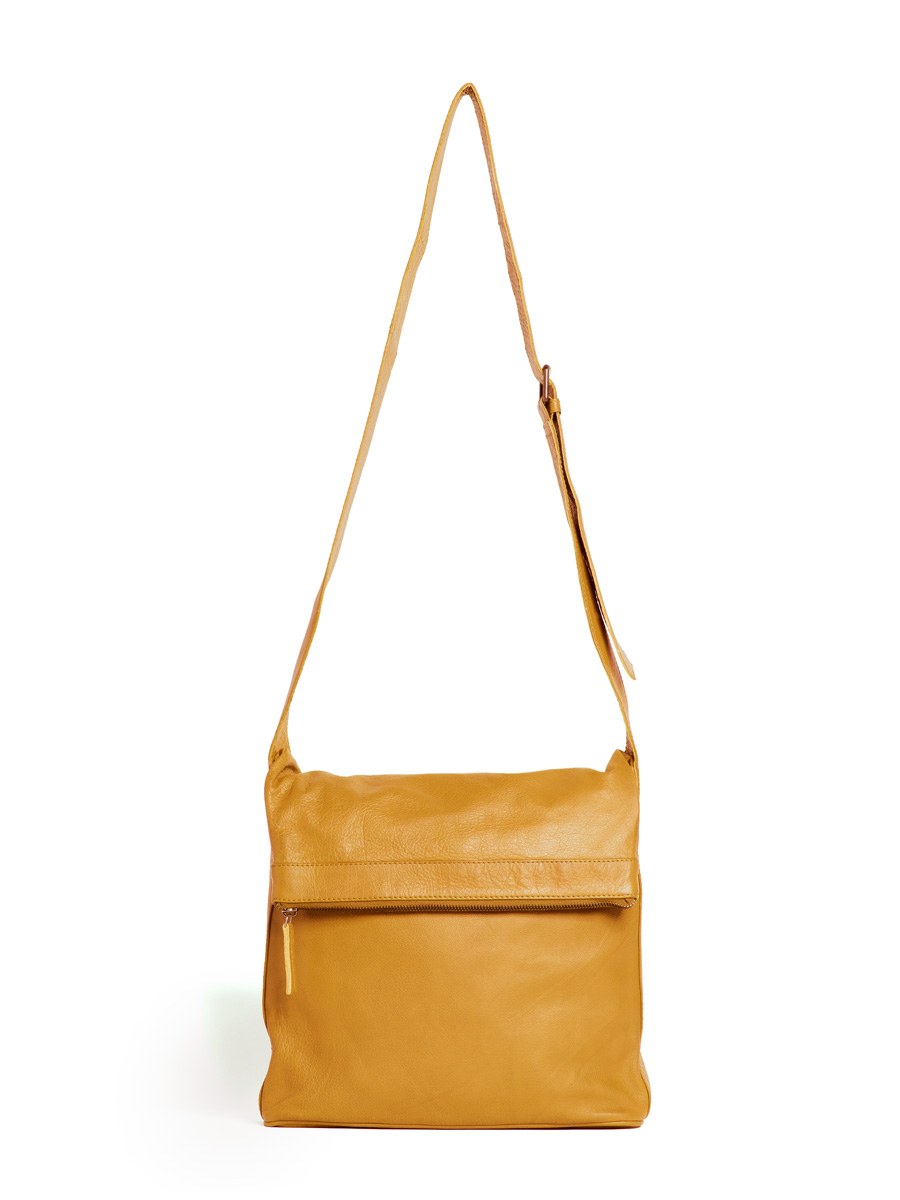 Flap Bag - Honey Yellow