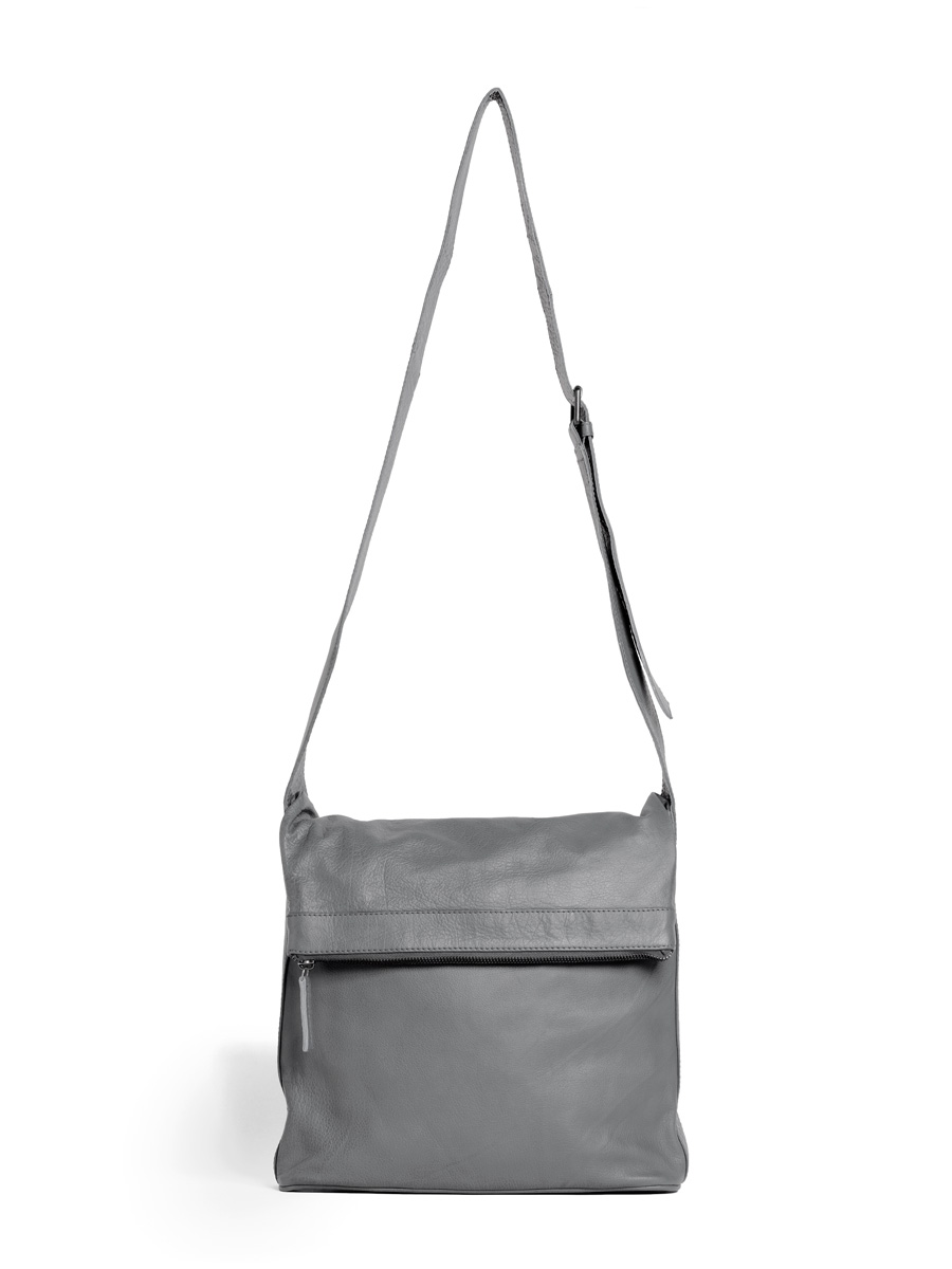 Flap Bag - Light Grey