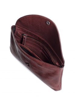 Bruges Wallet - Burgundy - Inside detail