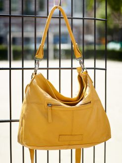 Paris Bag - buff washed - Honey Yellow