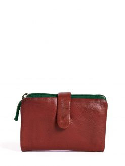 Laguna Wallet - Cherry Red
