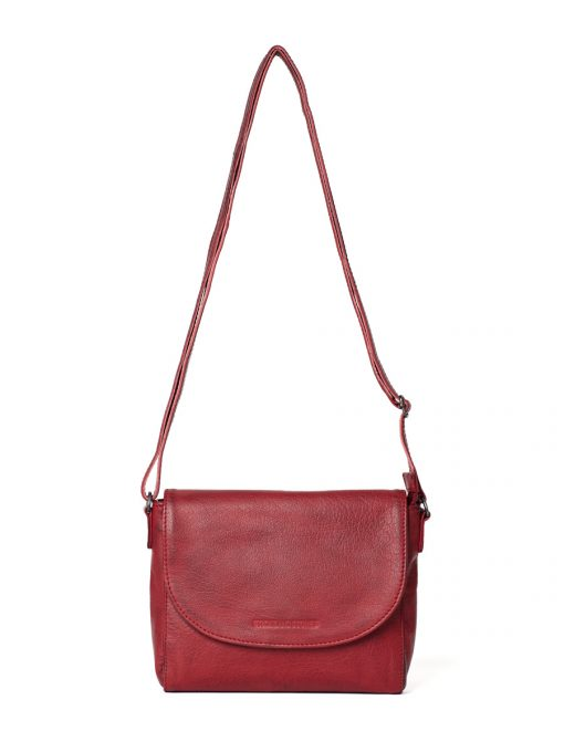 Berkeley Bag - Cherry Red