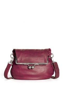 Cannes Bag - Mulberry Red