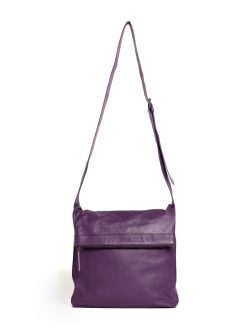 Flap Bag - Deep Purple