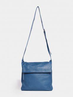 Flap Bag - Denim Blue