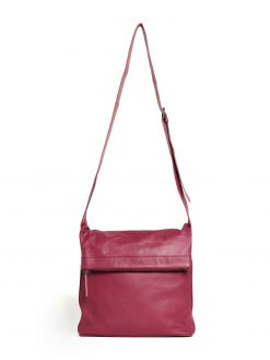 Flap Bag - Mulberry Red