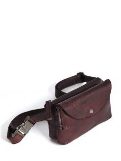 Indio Belt Bag - Burgundy