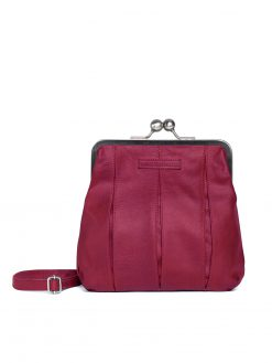 Luxembourg Bag- Mulberry Red