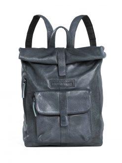 Messenger Backpack - Slate Blue