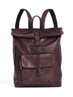 Messenger Backpack - Burgundy