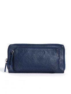 California Wallet - Marine Blue