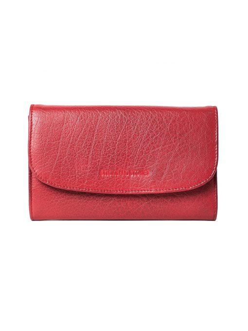 Aspen Wallet - Cherry Red